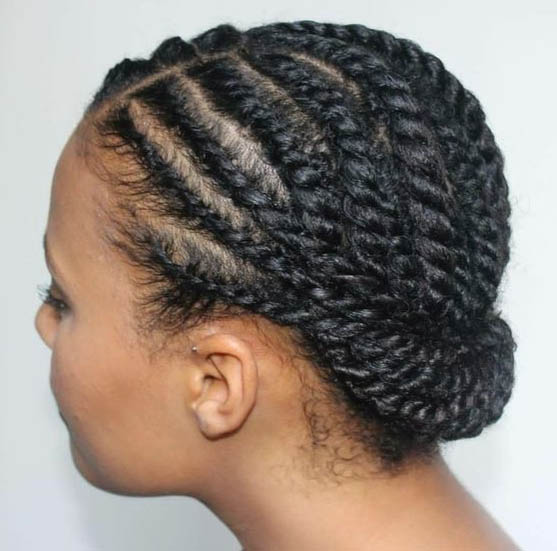 short natural weave