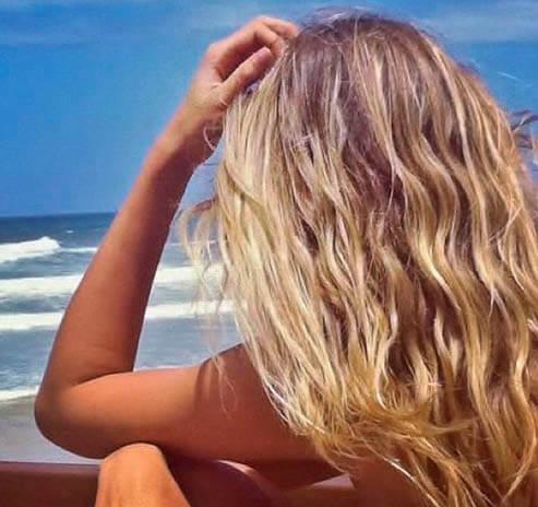 surfer girl hair